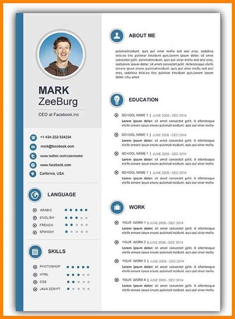 word document resume format latest resume format sample latest