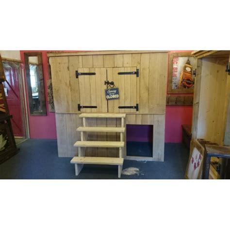 Shed Bed oak shed bed