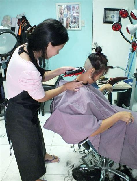 fun hair cut   barberettes barberettes