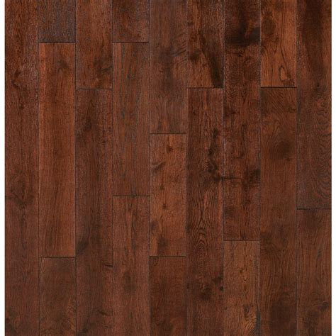 nuvelle  home sample french pinot noir solid click hardwood flooring      sc