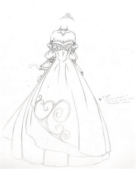 sketsa desain wedding dress kalis wedding dress by kalisama on deviantart