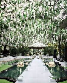 beautiful outside trendee flowers designs white glamour wedding inspiration
