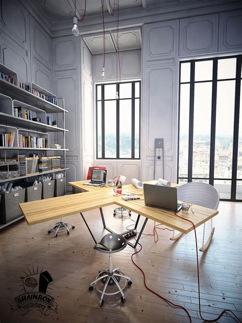 17 industrial home designs ideas design trends multi user home office interior design ideas trends and