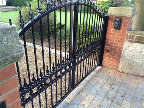 swing gate installation home www fortressgates co uk