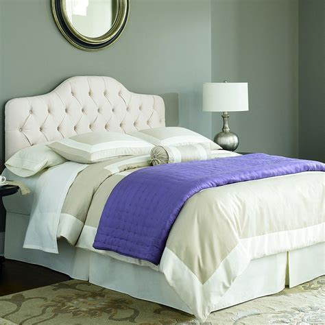 headboard padding martinique ivory padded headboard in beds and headboards