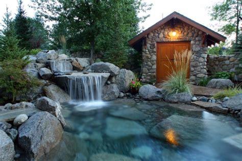 Backyard Waterfall Design Ideas 18 Landscaping Backyard Waterfall Design Ideas Style Motivation