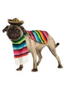 dogs halloween costume mexican serape pet costume