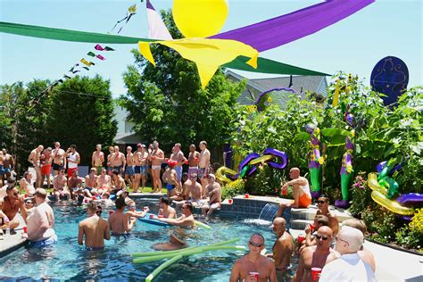 house pool party pool party raises thousands for rehoboth s lgbt community