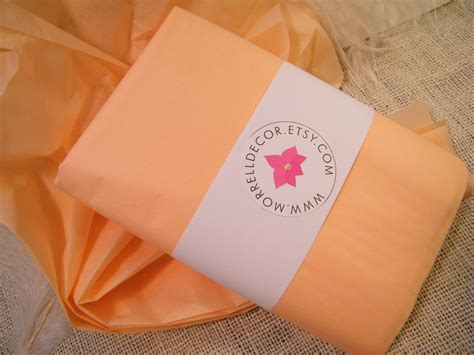Packaging Wrap tissue paper 48 sheets of 20 x 30 diy by morrelldecor