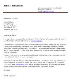Exle Of Covering Letter For by Cover Letter Exles Resume Downloads