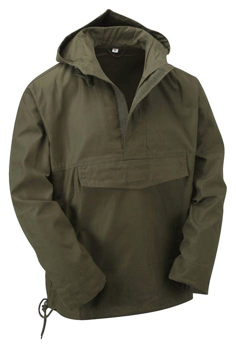 Parka Bola Real Madrid Army new style hooded anorak smock jacket fruugo
