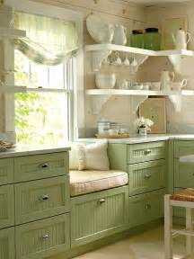 Green Kitchen Cabinets Colored Kitchen Cabinets Blogher