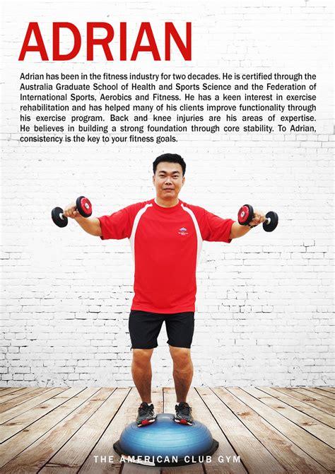personal trainer profiles