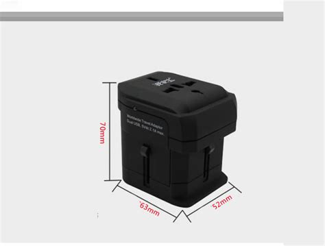 Travel Universal Socket All In One Colokan Serbaguna Adapter Adaptor all in one universal travel adapter feelgift
