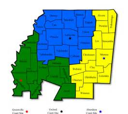 united states district courts map district map northern district of mississippi united