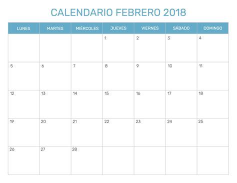 Calendario Lunar Marzo 2018 Calendario Febrero 2018 Para Imprimir Calendario 2018