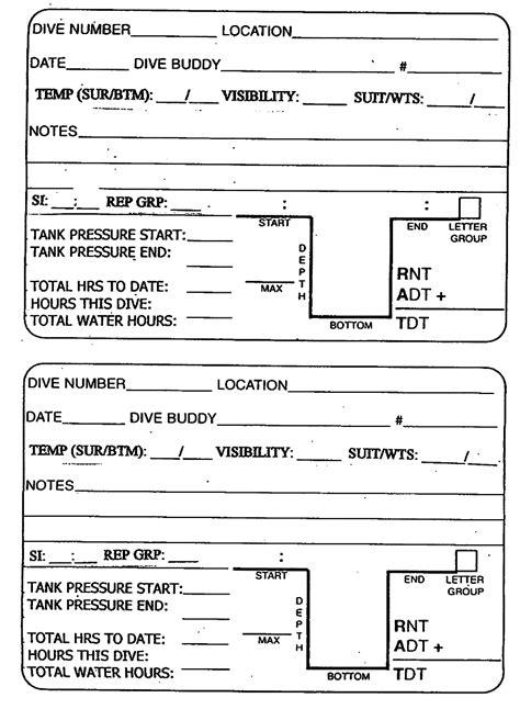 dive log book log book number automotive