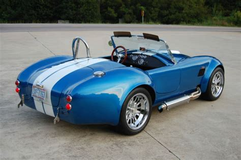 backdraft racing shelby cobra replica roadster  sc luxury vehicle  sale  wake forest