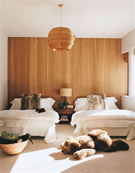 Wood Paneling For Bedroom Walls by 20 Modern And Creative Bedroom Design Featuring Wooden