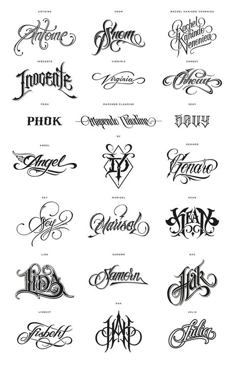 tattoo fonts names calligraphy 102 best your name here images on letter fonts