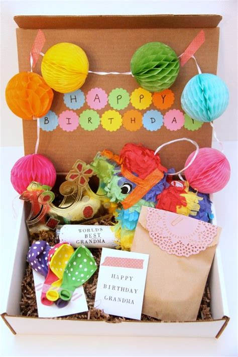 25 best ideas about birthday in a box on pinterest