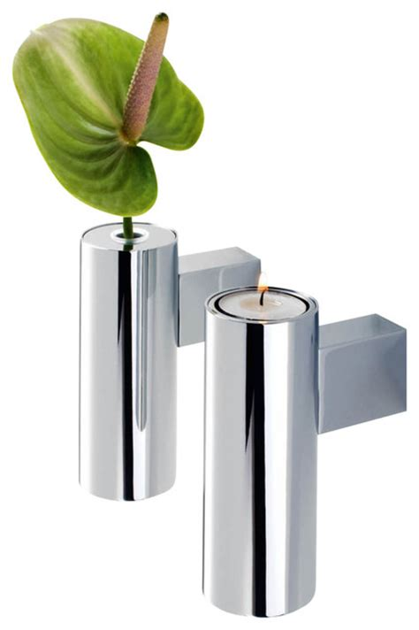 bathroom candles and accessories harmony 803 vase candle holder in chrome contemporary