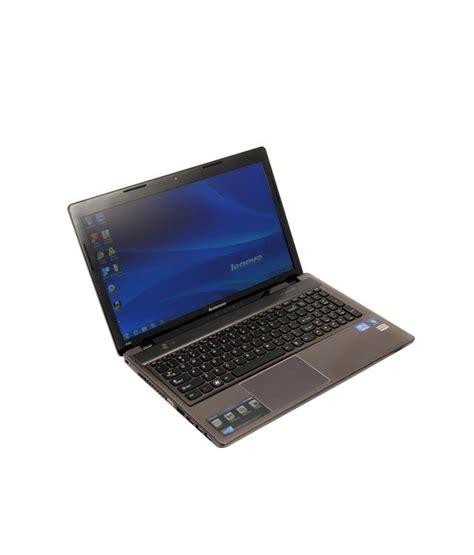 Laptop Lenovo I5 Second lenovo z580 59 333345 laptop 3rd i5 4gb 500gb win7 hb metallic grey buy