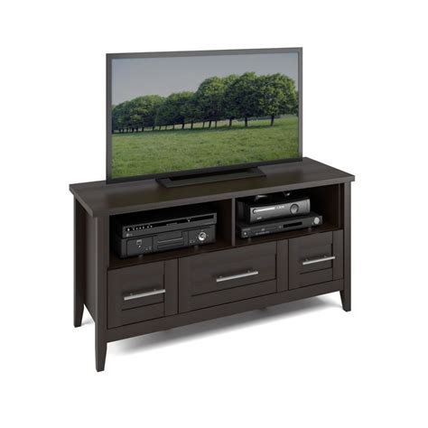 tv benches corliving tjk 685 b jackson tv bench in espresso finish