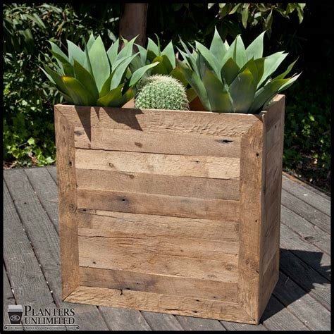 Wooden Planters by Large Wooden Planters Commercial Large Wood Planter Boxes