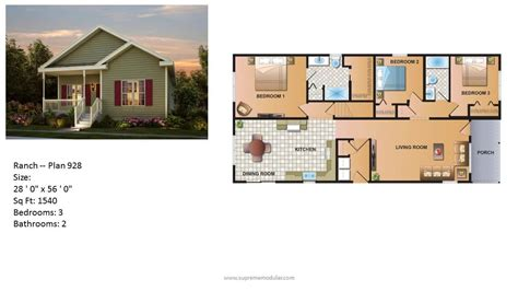 Homes Plans by Modular Home Ranch Plans
