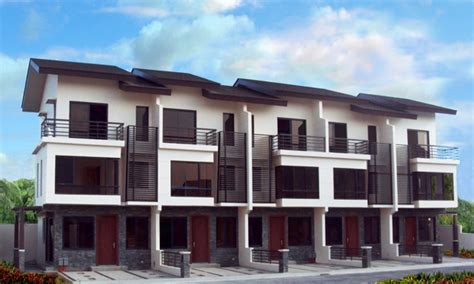 Latest House Design In Philippines Modern Townhouse Design Modern Architecture House Plans Philippines