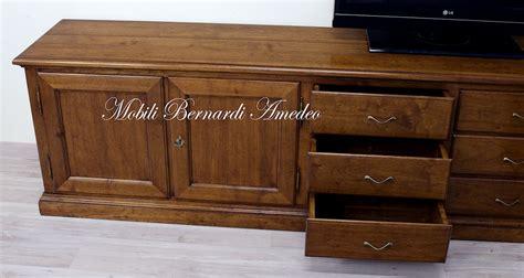 mobili per tv in legno mobili tv in legno massello 5 porta tv