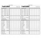 Coloring Pages Of Triple Yahtzee