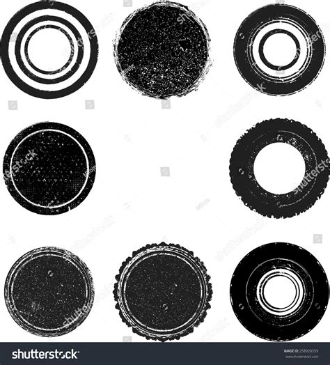 the images collection of vector round label victorian round vintage vector vintage insignias collection round grunge stock