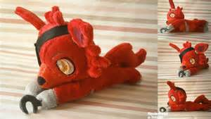 Foxy beanie plush five nights at freddy s by hipsterowlet on