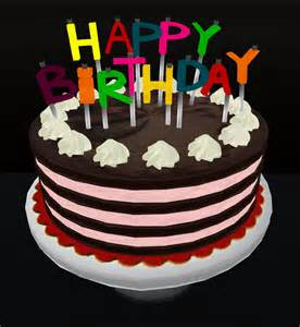 Happy birthday animated cake happy birthday sarah