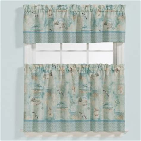 tier pattern vinyl vinyl bathroom window curtain in white lace valence