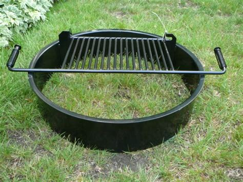 Steel Fire Pit Inserts Round & Square   Old Station