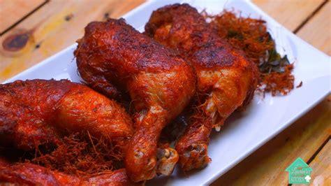 crispy juicy malay spiced fried chicken ayam goreng