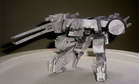 Metal Gear Rex Papercraft - metal gear rex papermodel by akinomatsu on deviantart