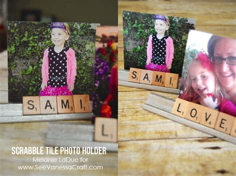 where can you buy scrabble tiles craft tutorial scrabble tile photo holder gift see