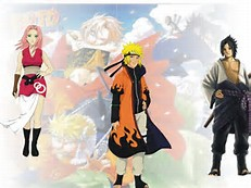 Naruto Sasuke and Sakura Grown Up
