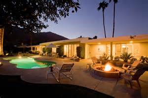 By palm springs photographers dusk architecture picture real estate