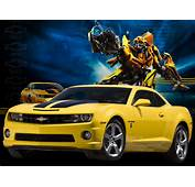 Chevy Camaro Chevrolet Transformers Bumblebee Edition