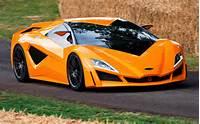 Italian Sports Cars Orange