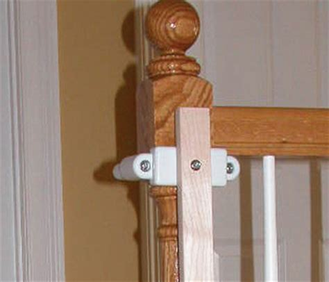 baby gate banister mount stairway gate installation kit