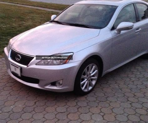 lexus is two door 2009 lexus is250 awd sedan 4 door 2 5l