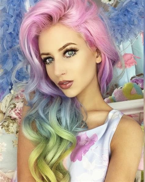 pastel hair colors for women in their 30s graceful pastel hair colors for 2017 new hair color