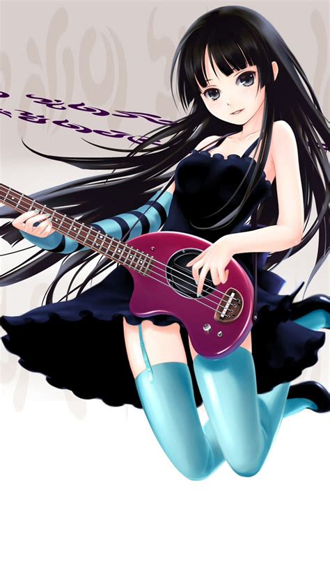 anime wallpaper for note 4 guitar anime girl galaxy note 4 wallpapers