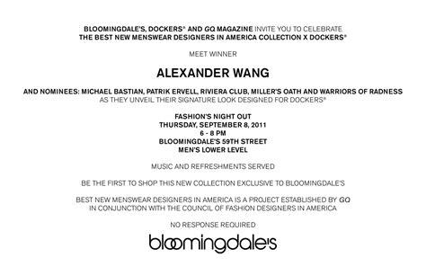 bloomingdales nyc wedding invitations meet wang at fno bloomingdales fashion
